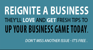 Get helpful business tips delivered for FREE right to your inbox!